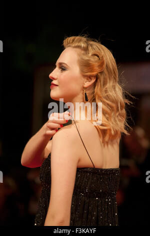 Odessa Young at the gala screening for the film Equals at the 72nd Venice Film Festival, Saturday September 5th - Stock Photo