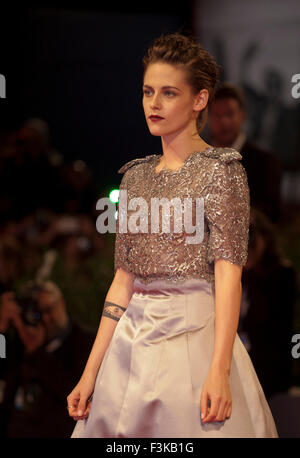 Actress Kristen Stewart at the gala screening for the film Equals at the 72nd Venice Film Festival, Saturday September - Stock Photo