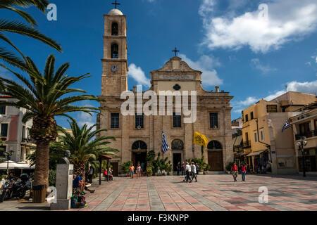 Church of Triartyri, Chania Crete. - Stock Photo