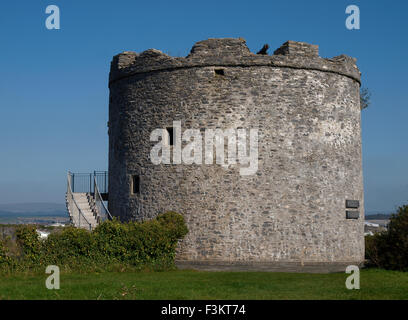 Mount Batten Tower, Plymouth, Devon, UK - Stock Photo