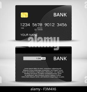 credit card design template