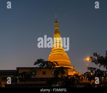 Uppatasanti pagoda, Naypyidaw Burma - Stock Photo