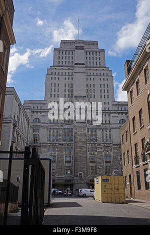 Senate House, University College London, UK - Stock Photo