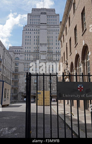 Senate House, University College London, England, UK - Stock Photo