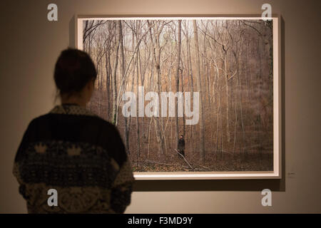 London, UK. 05/10/2015. Gathered Leaves, the first major UK exhibition by award-winning American photographer Alec - Stock Photo