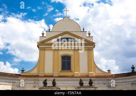 Baroque Church of the Holy Trinity in Tykocin Poland - Stock Photo