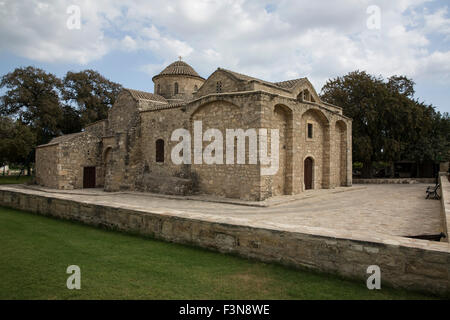 Panagia Aggeloktisti church  (Virgin Mary Built by the Angels) in Kiti Cyprus - Stock Photo