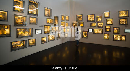 Israel Museum in Jerusalem, Israel - Stock Photo