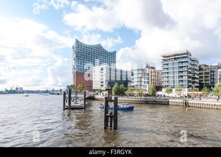Elbe Philharmonic Hall, HafenCity, Hamburg, Germany - Stock Photo