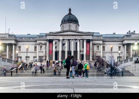 National Gallery, London, United Kingdom - Stock Photo