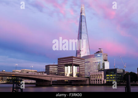 The Shard, Southwark, London, United Kingdom - Stock Photo