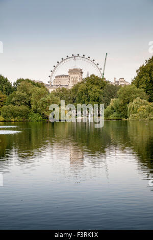 St. James's Park, City of Westminster, London, United Kingdom - Stock Photo