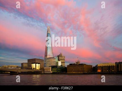 The Shard, Southwark, London, United Kingdom - Stock Photo
