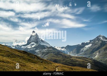 Matterhorn in Switzerland - Stock Photo