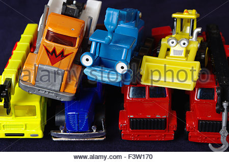 Child's Toy Cars - Stock Photo