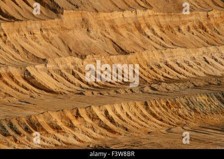 Brown Coal Mining - Stock Photo