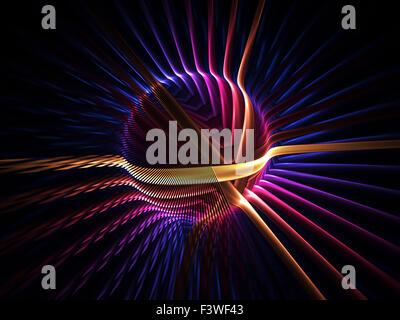 colorful energy globe - Stock Photo