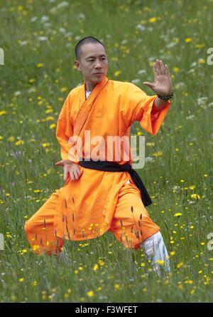 Shaolin Monk - Stock Photo
