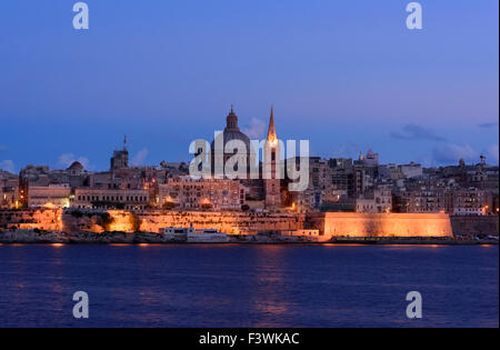 Valletta, Malta St Pauls - Stock Photo