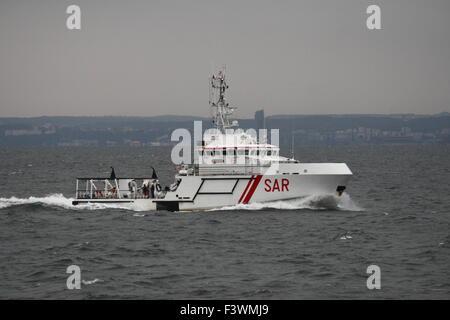 Gdynia / Baltic Sea, Poland 13th, Oct. 2015 The Sarex/Renegade 2015 Military search and rescue exercise. Polish - Stock Photo