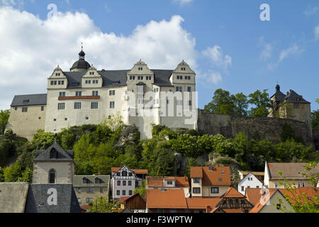 Ranis Castle, Thuringia, Germany - Stock Photo