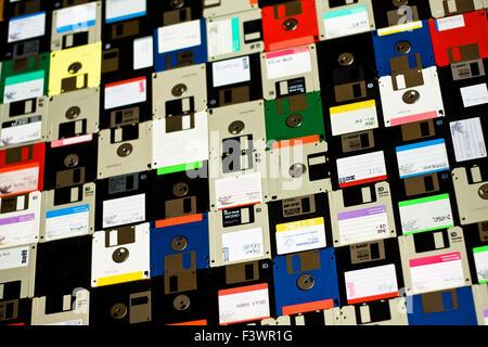 diskette, floppy disc - Stock Photo
