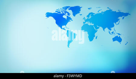 Futuristic world map title background stock photo royalty free blue presentation background world map business world map abstract background stock photo gumiabroncs Image collections