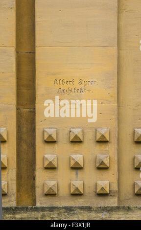 albert speer, architect - Stock Photo