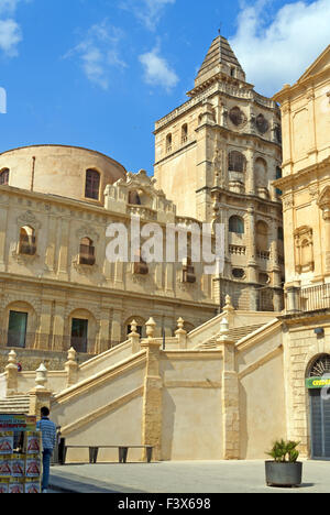 Old town of Noto - Stock Photo