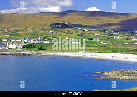 green Achill Island - Stock Photo