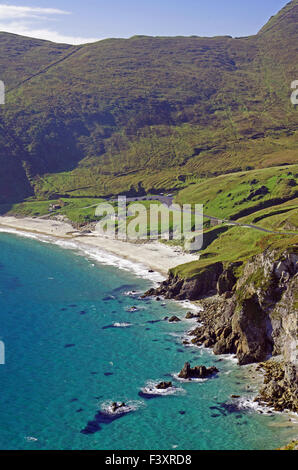 Wounderful Keem Bay on Achill Island - Stock Photo