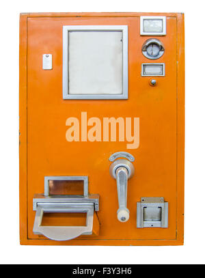 Vintage Ticket Machine - Stock Photo