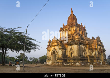 Pagoda in Nyaung U, Myanmar, Asia - Stock Photo
