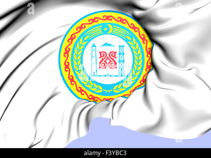 Chechen Republic Coat of Arms - Stock Photo