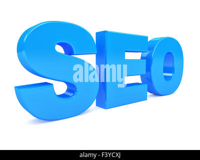 Search engine optimization symbol . 3d - Stock Photo