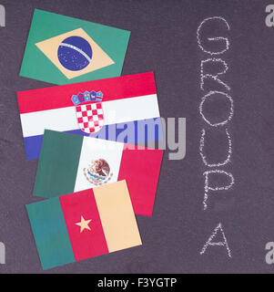 World Cup 2014 - Stock Photo