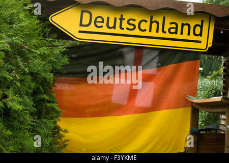 germany, flag - Stock Photo