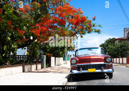 Cuba classic car 3 - Stock Photo