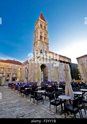The Cathedral of St Lawrence in Trogir - Stock Photo
