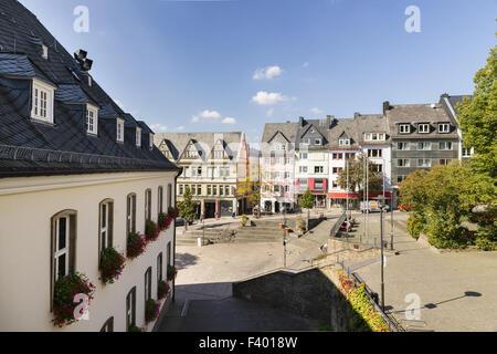 City Hall, Siegen, Germany - Stock Photo