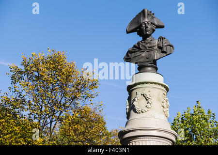 Monument of Frederick the Great, Berlin - Stock Photo