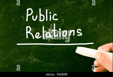 public relations - Stock Photo