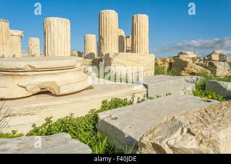 Acropolis in Athens Stock Photo