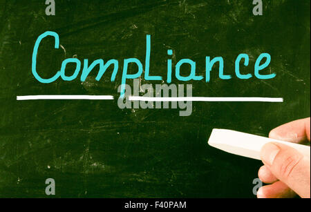compliance concept - Stock Photo