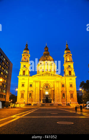 St. Stephen basilica in Budapest, Hungary - Stock Photo