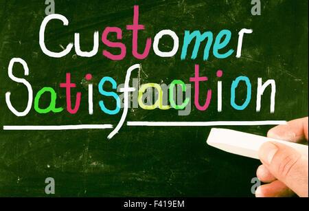 customer satisfaction - Stock Photo