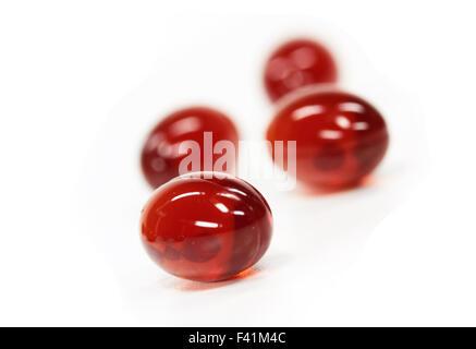 red pills - Stock Photo