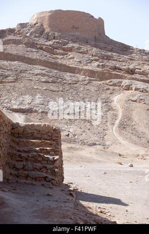 Dakhma,Tower of silence - Stock Photo