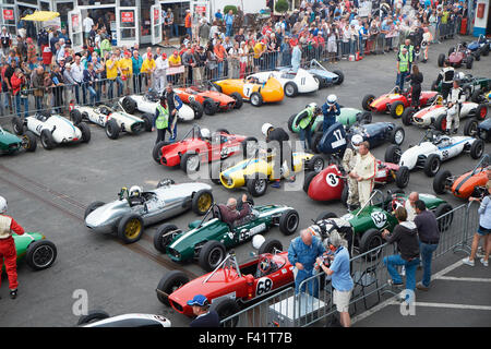 Cars Lined Up For Nurburgring Race Stock Photo Royalty Free Image