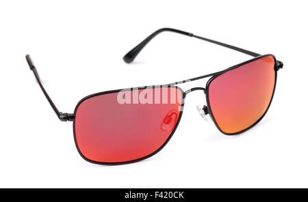 Polarized sunglasses isolated on white - Stock Photo